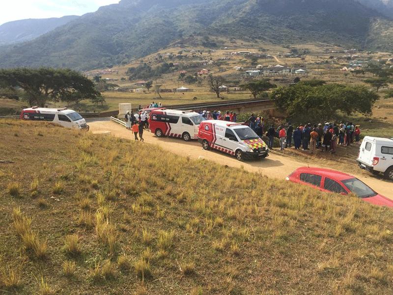 Edendale bakkie crash