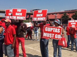 EFF Concourt march_jacanews