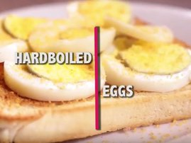 Three ways to cook eggs in the microwave