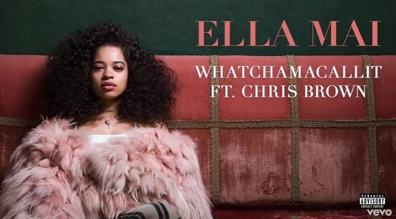 Ella Mai featuring Chris Brown 'Whatchamacallit'