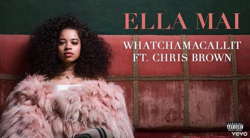 Ella Mai featuring Chris Brown 'Whatchamacallit'