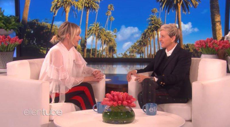 Ellen DeGeneres and her wife Portia