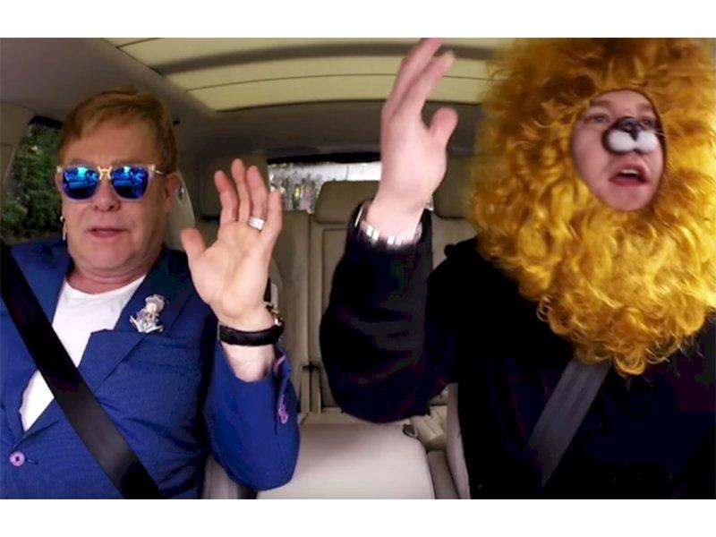 Elton John's Carpool Karaoke is Epic.