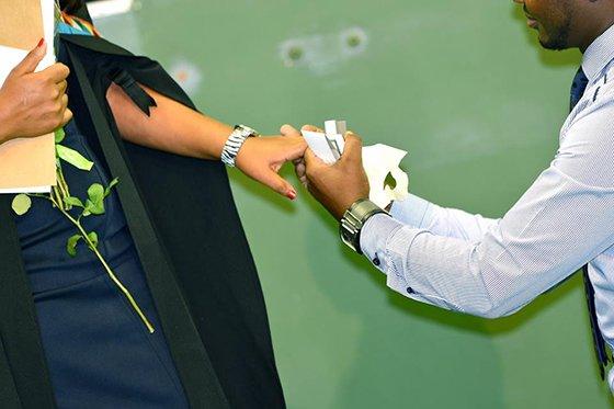 Engagement at UKZN gradation ceremony