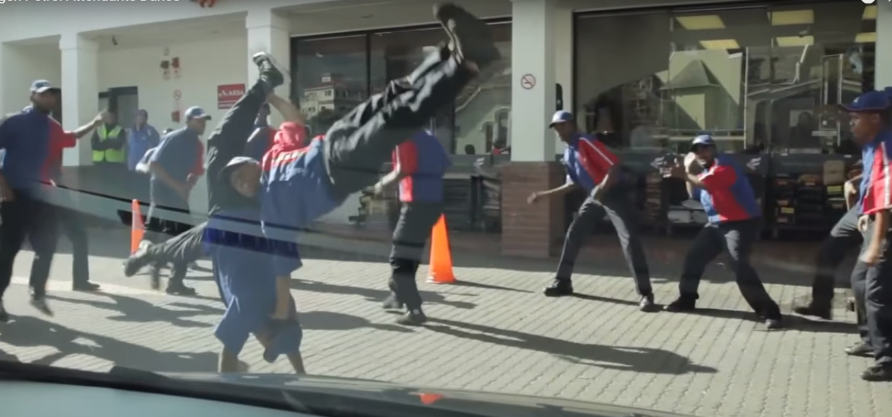 Engen Flash Mob skill