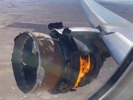 engine faliure Boeing 777