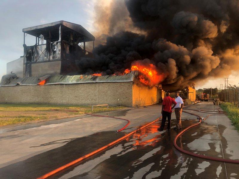 Estcourt Clover factory fire