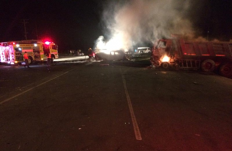 Eston truck crash