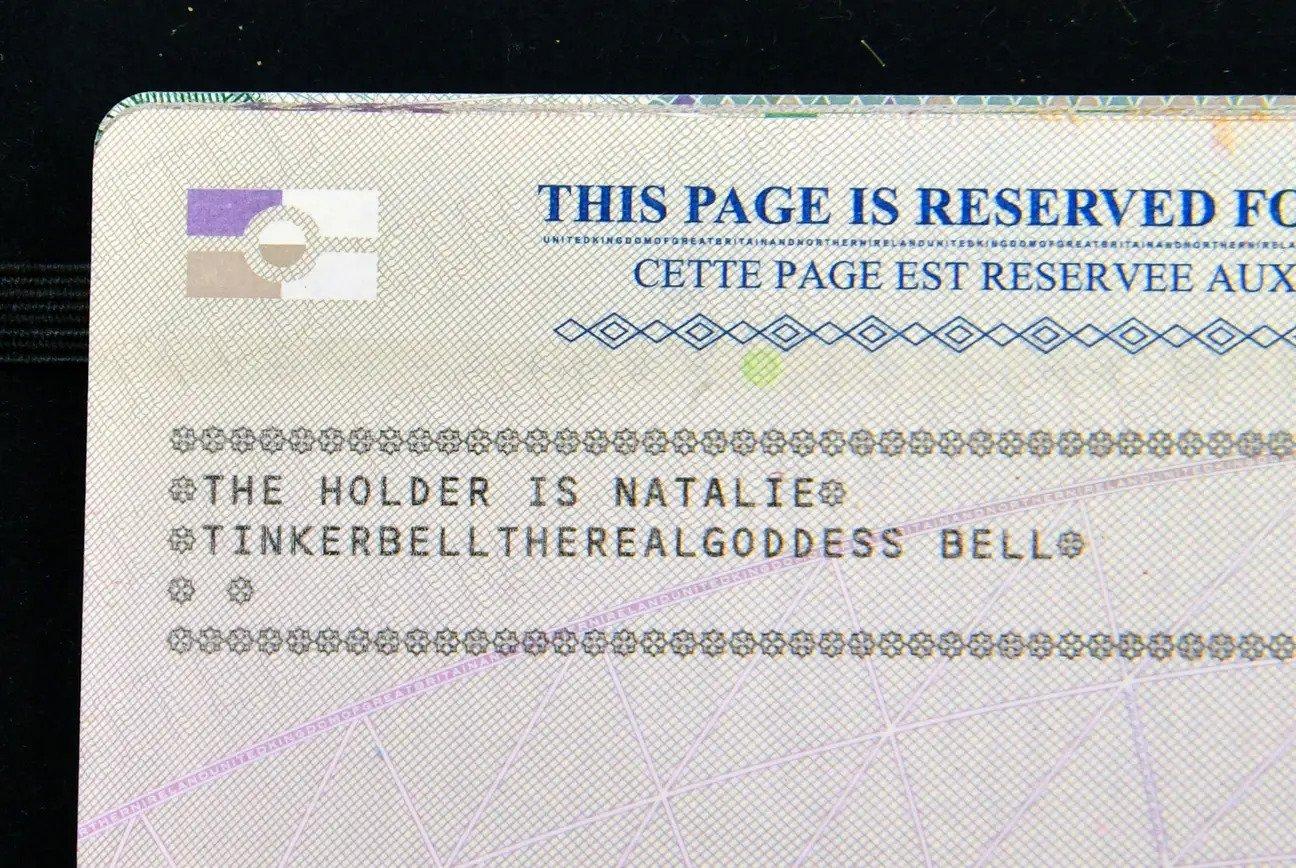 Tinkerbelltherealgoddess Disney name change