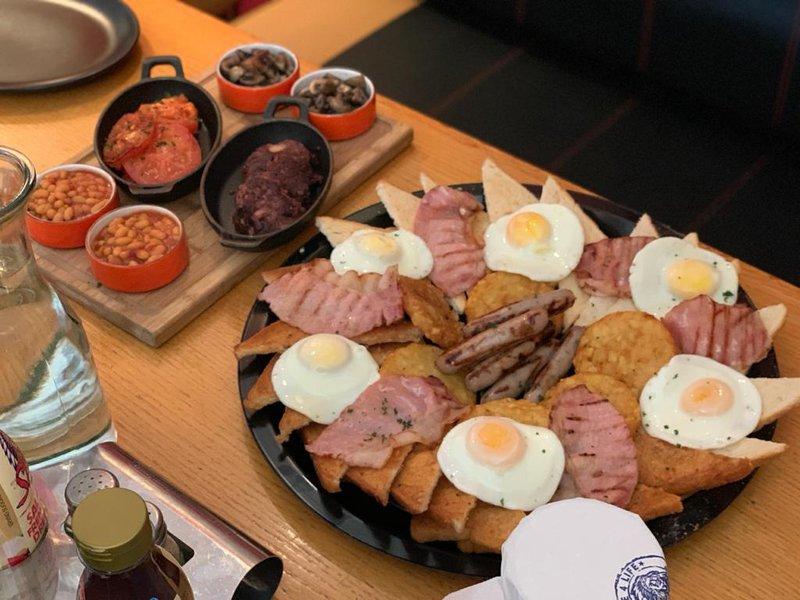 41 Piece Mega Breakfast Challenge