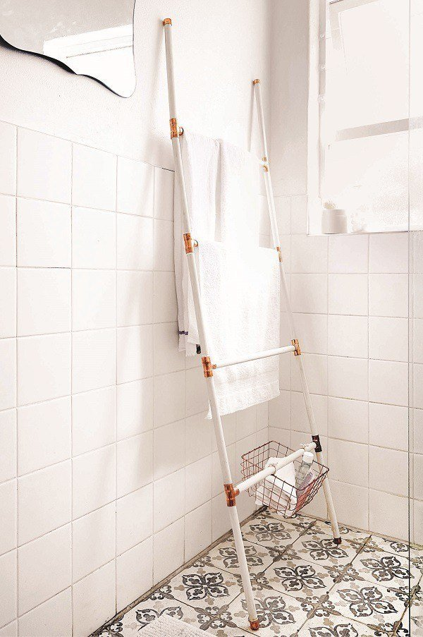Germarie Bruwer completed towel ladder tutorial