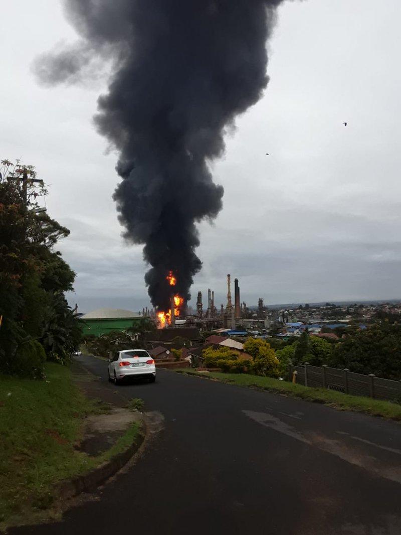 Fire refinery