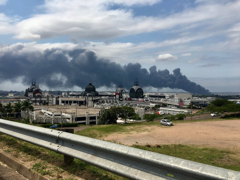 Residents near Transnet fire urged to evacuate