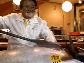 Man buys fish