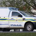 Police van, crime scene, SAPS - generic