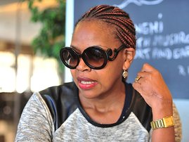 Actress Florence Masebe-gallo