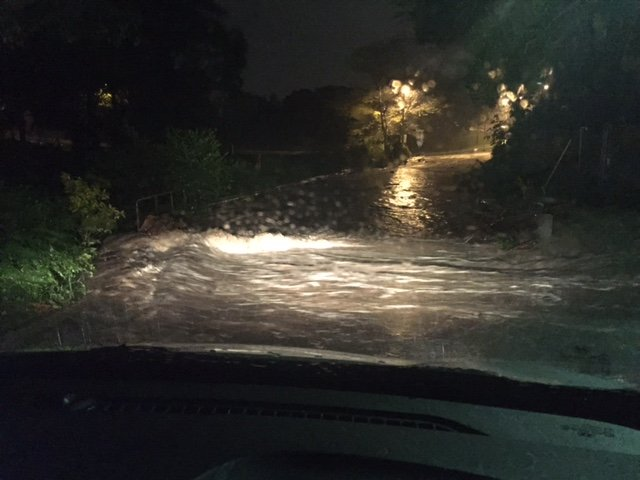 Flooded Road 1