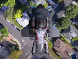 WATCH: Forget about 'flying cars', now there's a flying motorcycle that 480km/h