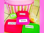 Food to fit lunch bag