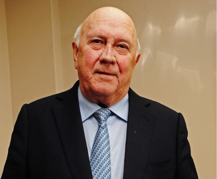 FW De Klerk Foundation Trying to 'Incite Race Hatred' With Apartheid Statement