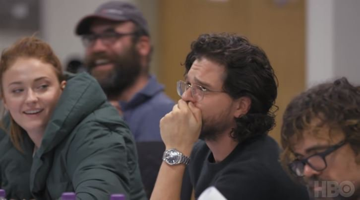 Game of Thrones final table read