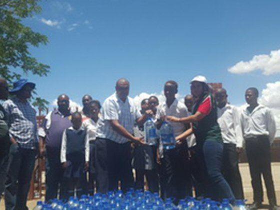 Kzn ngo helps tackle water crisis gift of the givers water project negle Choice Image