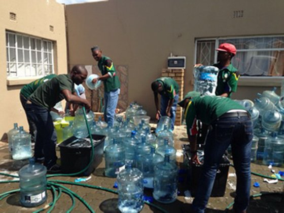 Kzn ngo helps tackle water crisis gift of the givers water project negle Images