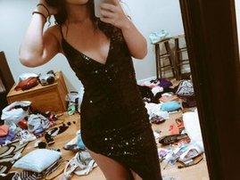 Girl's dirty room