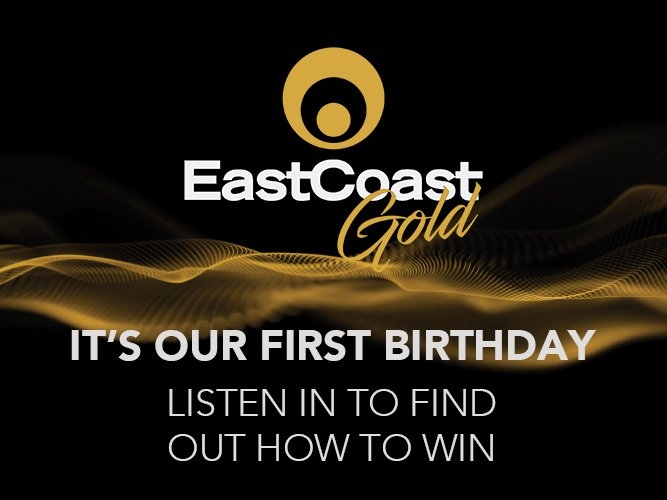 East Coast Gold Birthday