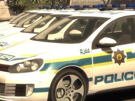 SAPS/Police Golf 6-cars- generic