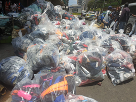 Seized fake goods