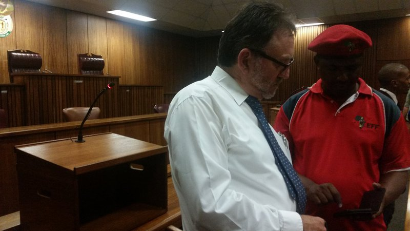 Godrich Gardee and James Selfe in court