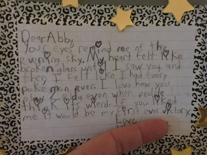 This Grade 5 Pupils Love Letter Is So Sweet
