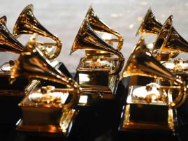 Grammy award trophies