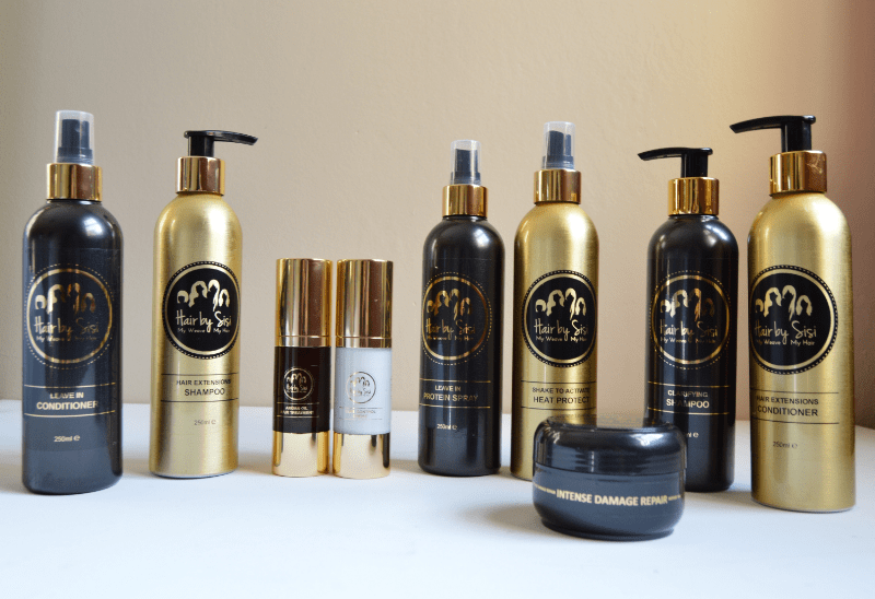 'Hair by Sisi' products