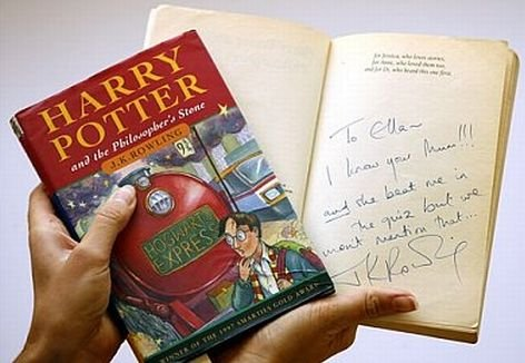Harry Potter First Edition On Auction