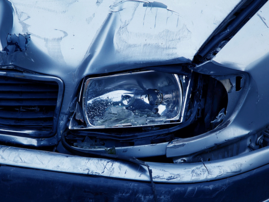 Headlamp, car crash