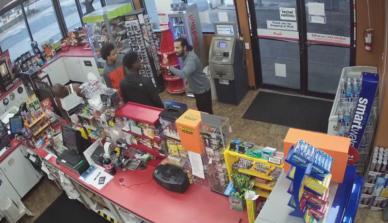 clerk suffers heart attack during robbery