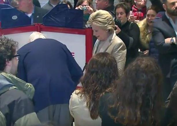 Hillary Clinton, Bill, vote in New York