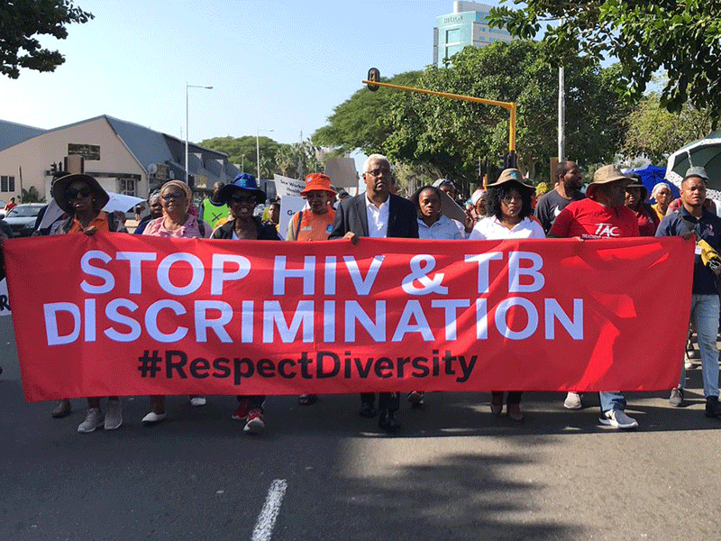 Durban march ahead of aids conference
