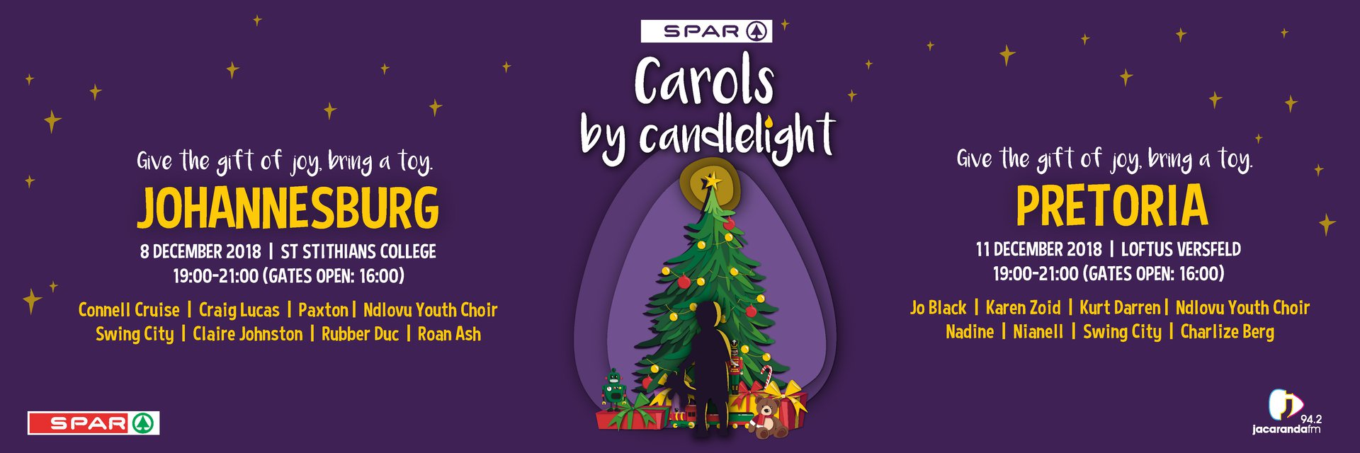 Carols by Candlelight with Jacaranda FM