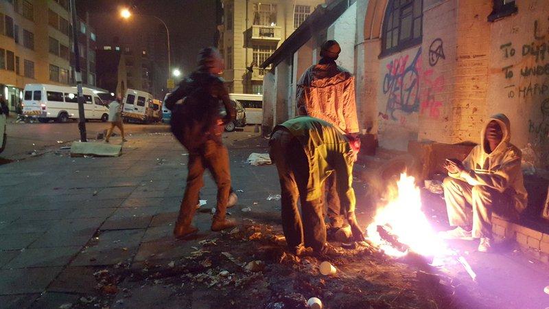 Homeless bodies pile up in Pretoria