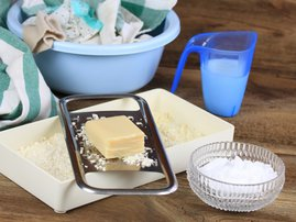 Homemade washing detergent