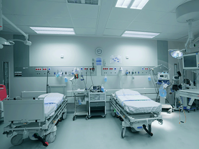 Generic hospital room