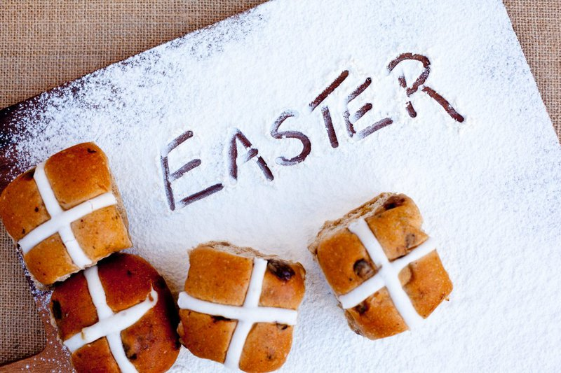 Easter cross buns