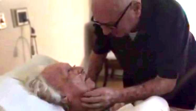 Man sings love song to wife on her deathbed