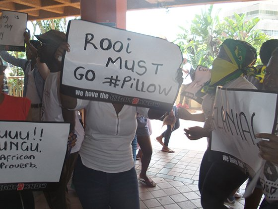 Howard College strike against outsourcing