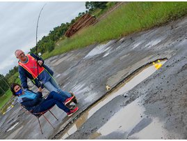 Howick potholes