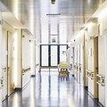 Hospital bed corridor generic