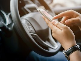 Phone and driving